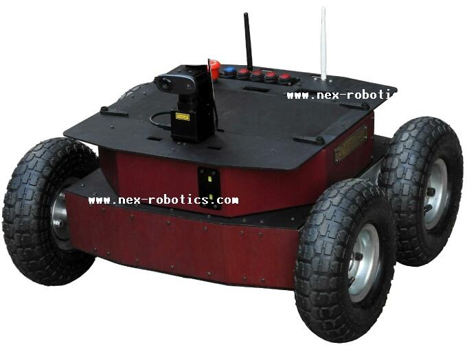 0x-Delta 4 Wheel drive robot