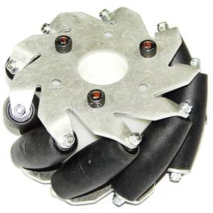 100mm Heavy Duty Mecanum Wheel (4 Wheel Set)