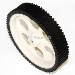 109mm Diameter x 21mm Thick x 6mm Bore Wheel