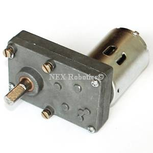 10 RPM Side Shaft Super Heavy Duty DC Gear Motor