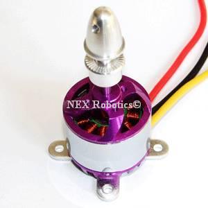 N2830, 1300Kv Brushless DC Outrunner Motor