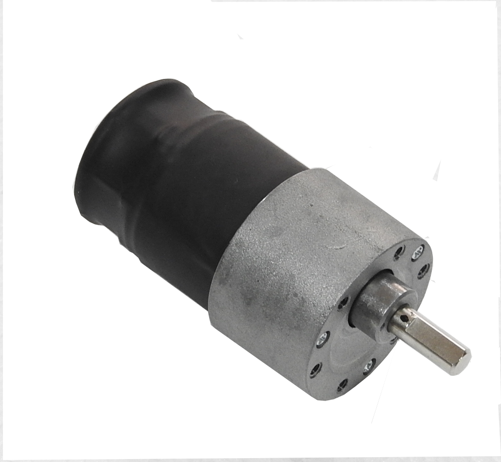 150RPM Side Shaft DC Gear Motor with Position Encoder