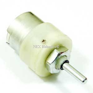 10 RPM Centre Shaft Economy Series DC Motor