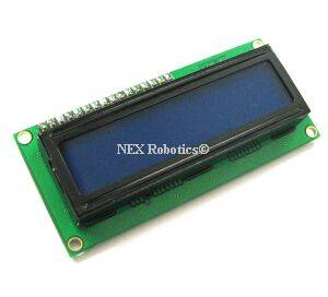 16x2 blue LCD backlight