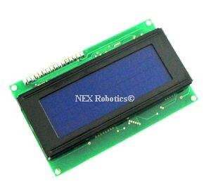 20x4 blue LCD backlight