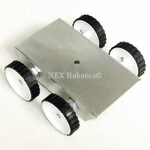4 Wheel Drive Robot Chassis (Small)