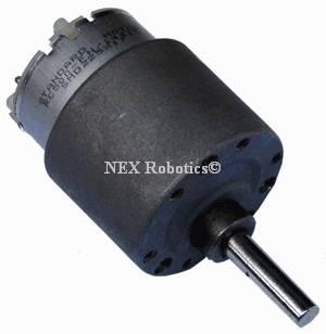 60 RPM Side Shaft 37mm Diameter Compact DC Gear Motor