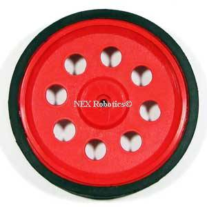 69mm Diameter Wheel for Plastic Gear Motors