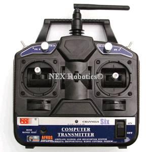 FS-CT6B 6ch 2.4GHz transmitter & receiver