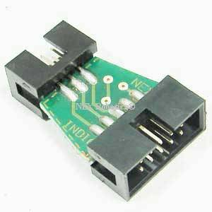 6 to 10 pin AVR ISP Converter