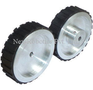 72mm Dia. x 20mm Thick, 6mm Bore Precision Aluminium Alloy Wheel