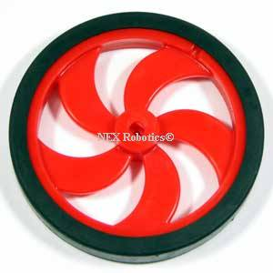 87mm Diameter Multipurpose Wheel for Plastic Gear Motors