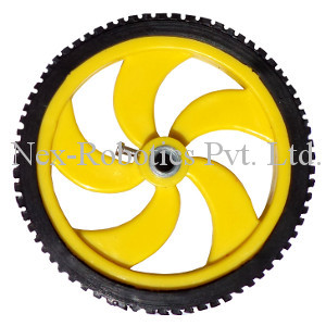 87mm Diameter Multipurpose Wheel for 6mm Shaft Gear Motors