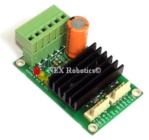 8V-28V, 5Amp Dual DC Motor Driver with Current Sense