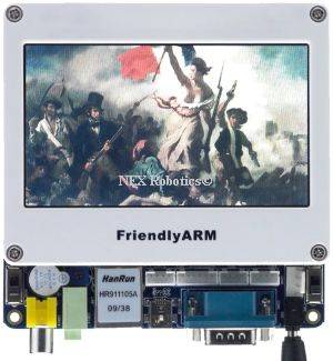 "ARM11 mini6410 development board with 4.3"" LCD"