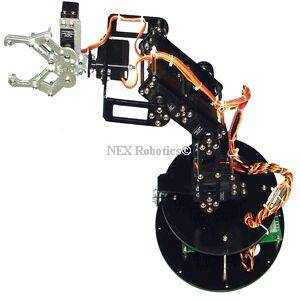 Dexter ER-1 Robotic Arm with Controller and Accessories