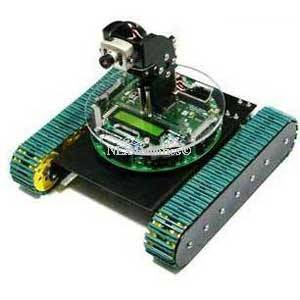 Fire Bird V ATMEGA2560 Tank Drive Robotic Research Platform