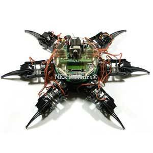 Fire Bird V ATMEGA2560 Hexapod Robotic Research Platform