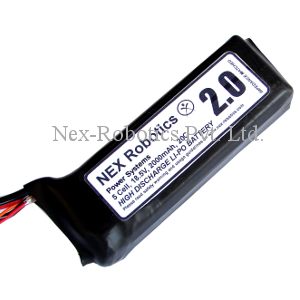 Lithium Polymer 5 Cell, 18.5 V, 2000mAh, 20C Discharge Battery