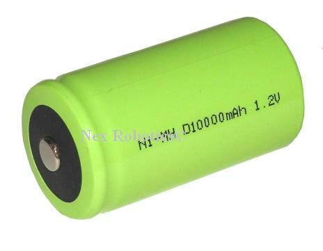 Nickel Meted Hydride 1Cell, 1.2V, 10000mAh