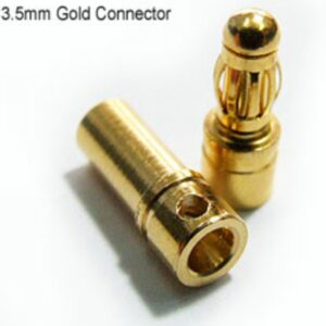 PolyMax 3.5mm Gold Connectors PAIR