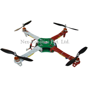 Quadrotor Combo Pack (Full) with HobbyKing KK2.1.5 Multi-rotor LCD Flight Control Board With 6050MPU