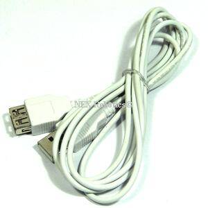 USB Type A Male to USB Type A Female Cable