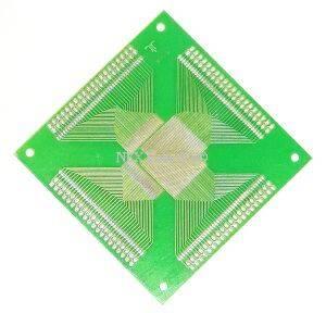 Universel 0.65mm 160 Pin QFP PCB