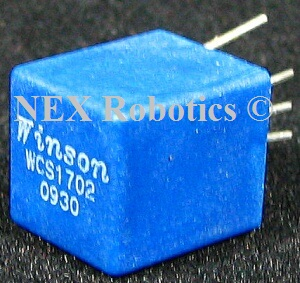 WCS1702 2~5 Amp Hall Effect Current Sensor Module