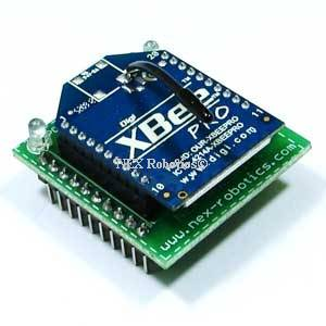 XBee Wireless Module Adaptor Board