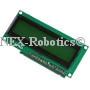 16x2 Green Serial LCD