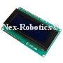 20x4 Blue Serial LCD