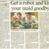 Get a robot and kiss your maid goodbye