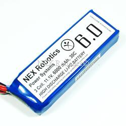 Any High discharge 3cell 11.1V Lithium Polymer battery above 1800mAh.