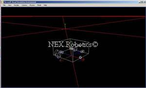 MRDS-NEX-Simulation Enviornment