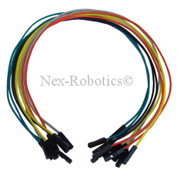 Female 1 to 1 Connector Pack of 10